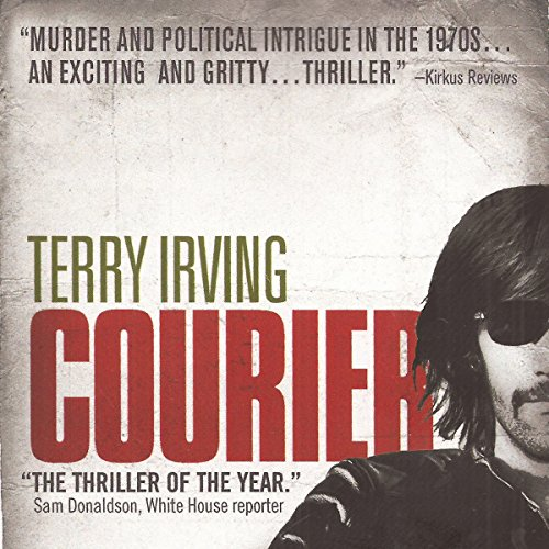Courier audiobook cover art