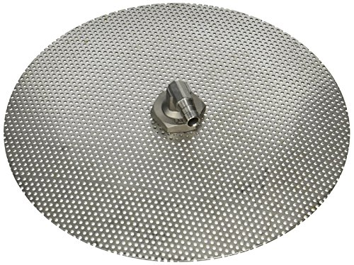 Stainless Steel Domed False Bottom - Select a Size (12', 10' or 9') (9')
