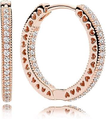 orecchini donna gioielli Pandora Cuori casual cod. 286318cz