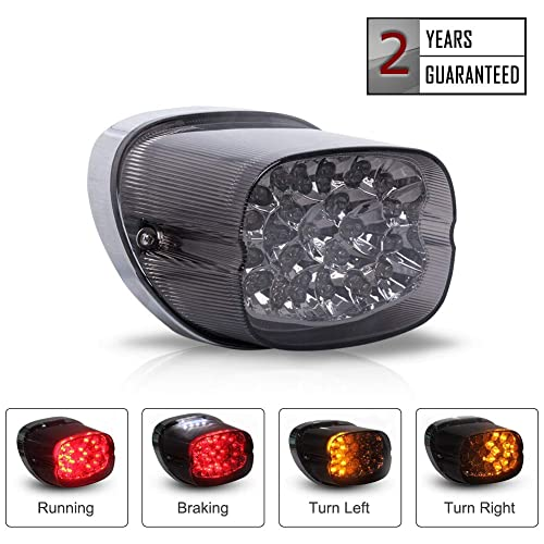 Motorcycle Tail Light with Turn Signals: Amazon com