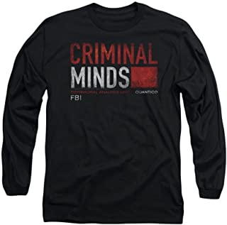 Sons of Gotham Criminal Minds Title Card Adult Long Sleeve T-Shirt