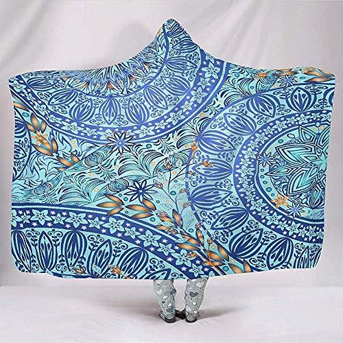 Moda Duanrest psychedeliche oogschaduw mandala Totem van Loto Boho Hippie Astratto bloemendeken