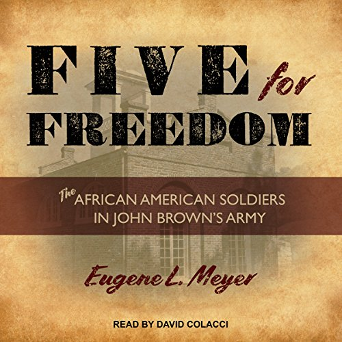 Five for Freedom audiobook cover art
