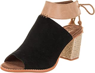 TOMS Women's Seville Suede Honey Leather Ankle-High Sandal