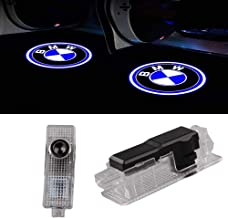 Car Door LED Logo Projector Light for BMW,Ghost Shadow Welcome Lights Symbol Emblem Courtesy Step Lights Ground Lamp Kit for BMW 3 5 6 7 Z GT X Mini Series