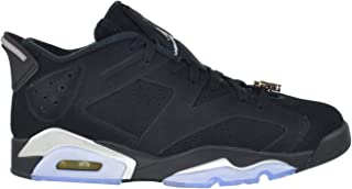Jordan Air 6 Retro Low Chrome Men's Shoes Black/Metallic Silver-White 304401-003 (13 D(M) US)