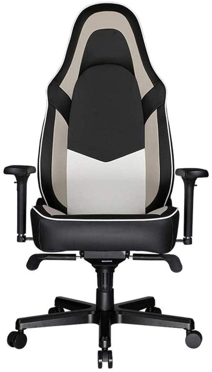 王女テストただ高さ調節可能なコンピュータチェアオフィスチェア人間工学に基づいたゲームチェアレーシング背もたれシート回転可能なロッキングチェア ひざまずく椅子