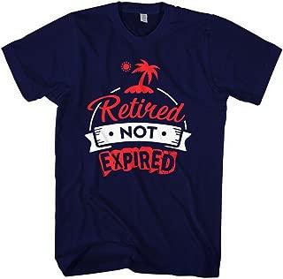 retired not expired t shirt