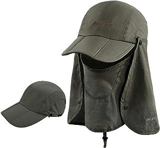 39bf4a64c ICOLOR Sun Caps Flap Hats UV 360° Solar Protection UPF 50+ Sun Cap Shade