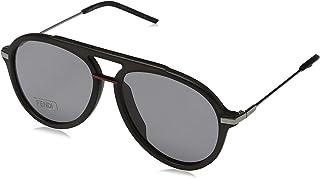 FENDI - FF M0011/S IR KB7 58 Gafas de sol, Gris (Grey/Grey Grey), Hombre