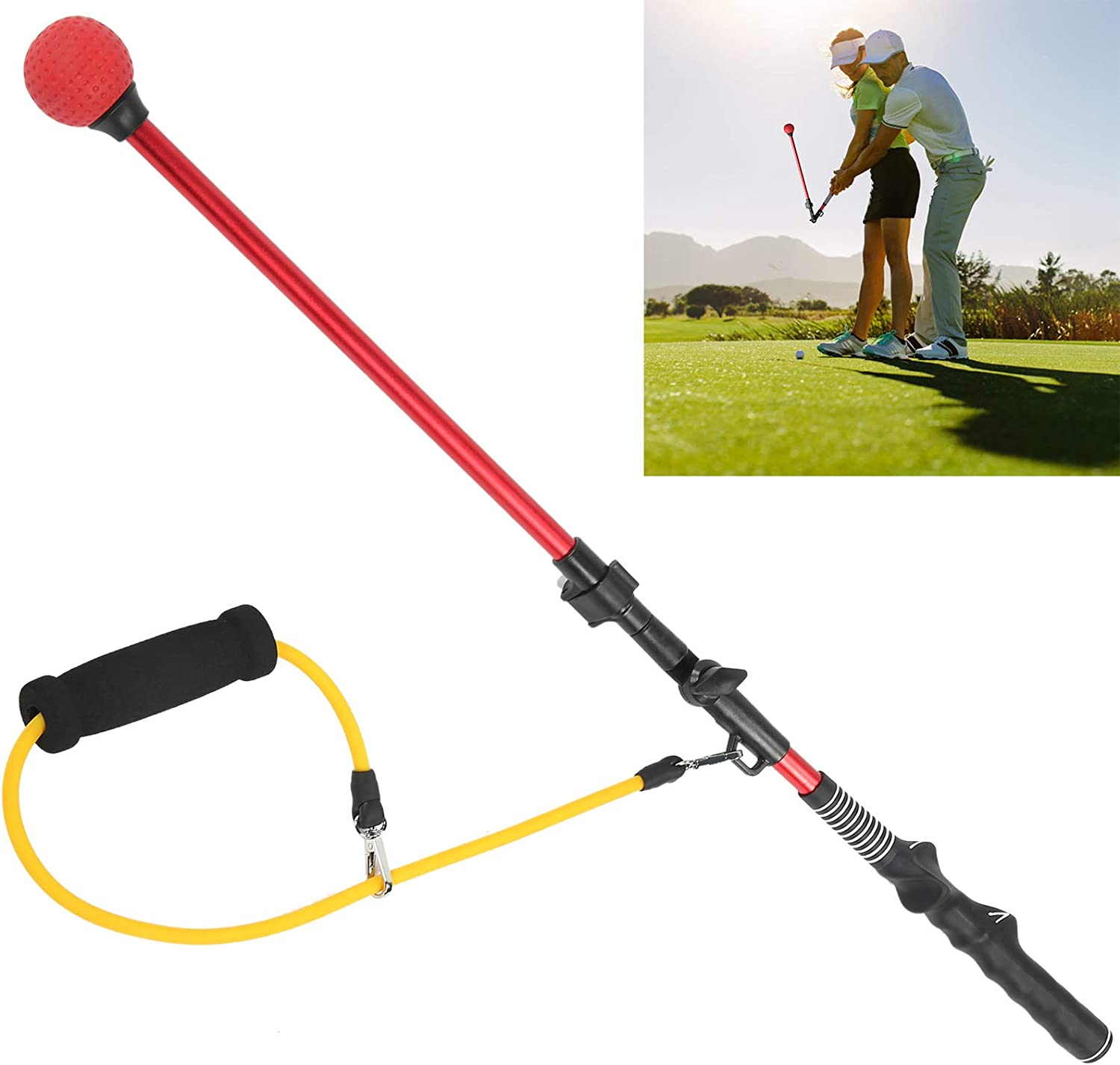 discount Camidy Golf Swing Posture Aluminum Corrector Practicing Go Time sale