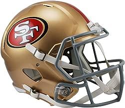Riddell San Francisco 49ers Officially Licensed NFL Speed Full Size Replica Football Helmet