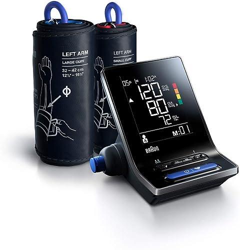 Tensiomètre intelligent Braun ExactFit 5 Connect (précision clinique, Bluetooth, détection des irrégularités du rythm...