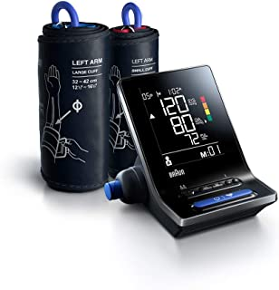 Braun ExactFit 5 Connect BUA6350 Intelligente Bluetooth Bovenarm bloeddruktmeter voor thuis