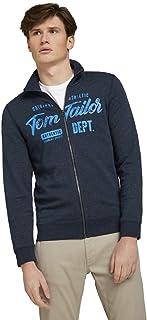 TOM TAILOR Men's Logo Sweat Jacket