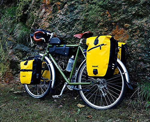 Rhinowalk Fahrradtasche 20L TPU Wasserdichtes Fahrrad Gepäcktaschen Reißfest Rücksitz Gepäckträger Tasche MTB Fahrrad Satteltaschen - 6