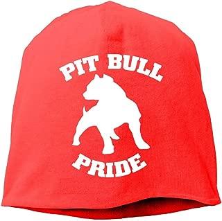 SHA45TM Pitbull Pride Men Women Winter Helmet Liner Fleece Skull Cap Beanie Hat for Cycling Black