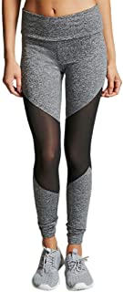 Women Yoga Pants, Neartime High Waist Sports Gym Leggings Mesh Patchwork Running Fitness Pants Workout Clothes