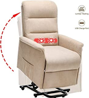 Power Lift Recliner Chair with Heat & Massage (Color 1)