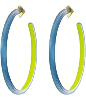 Alexis Bittar - Large Skinny Hoop Earrings