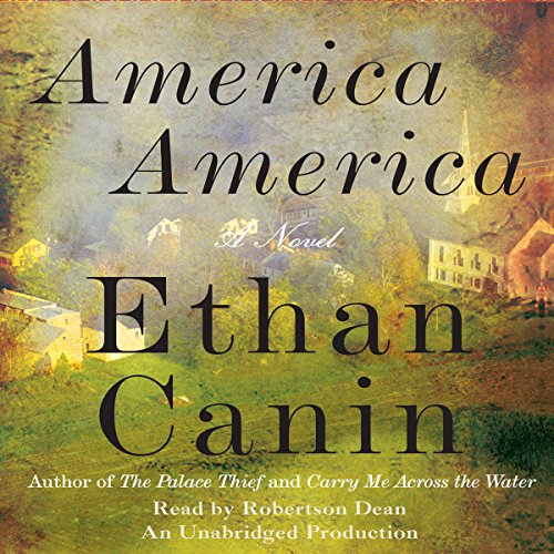 America America audiobook cover art