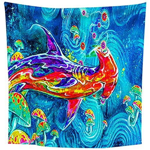 NTtie Tapestry,Colgar en la Pared, Paño Colgante de decoración del hogar del Bosque del Paisaje