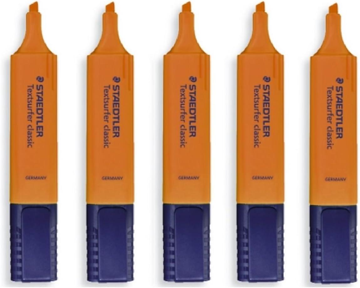 STAEDTLER Orange Highlighter half Pens Classic Ultra Max 72% OFF Textsurfer Soft