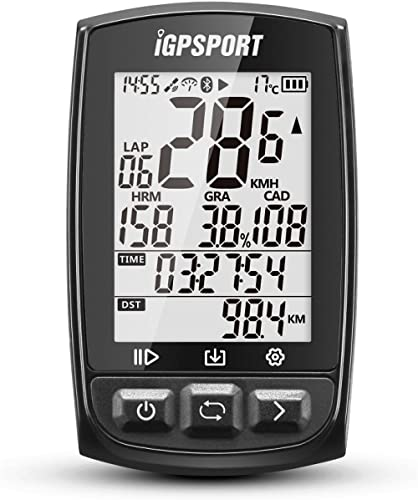 iGPSPORT GPS Bike Computer Big Screen with ANT+ Function iGS50E Wireless Cycle Computer Waterproof product image