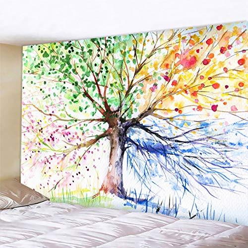 Moda nórdico minimalista tapiz árbol de la vida tapiz paisaje papel pintado arte chal decoración del hogar cojín colgante