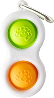 Fat Brain Toys Simpl Dimpl - Orange/Lime Office & Desk Toys for Ages 3 to 11