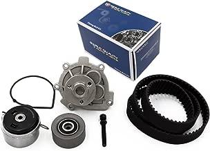 Timing Belt Water Pump Kit fits for 2012-2014 Chevrolet Cruze, 2012-2013 Chevrolet Sonic, 2009-2011 Aveo, Aveo5, 2009-2010 Pontiac G3, 2009 Pontiac G3 Wave, 2008-2009 Saturn Astra, 2009 Suzuki Swift+
