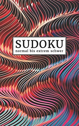 Sudokubuch für unterwegs: normal bis extrem schwer | Sudoku Rätselblock für die Tasche | 192 knifflige Sudokus mit Lösungen im Anhang | Kleines ... Gehirnjogging und Zeitvertreib für Erwachsene