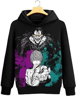Anime Death Note Light Yagami Cosplay Jacket Sweatshirt Fleeces Costume Hoodie
