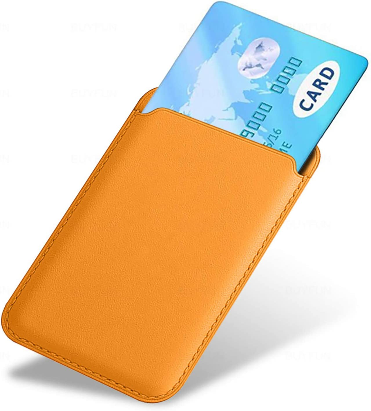 Magnetic magsafe Leather Wallet Pouch Card ID Holder Compatible for iPhone 12 Mini Baltic Blue iPhone 12 Pro Max iphone12 Pro