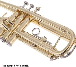 Andoer 2PCS Trumpet Valve Slide Finger Ring Trumpet Accessory Replacement