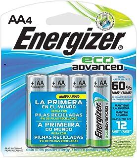 Pilha Eco Advanced Pequena AA4, Energizer