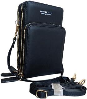 فور ايفير يانغ حقيبة للنساء-اسود - حقائب طويلة تمر بالجسم