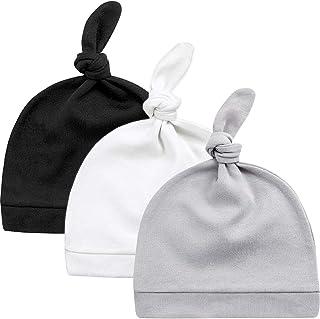 کلاه نوزاد KiddyCare نوزاد - 100٪ پنبه ارگانیک - نرم