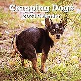 Crapping Dogs 2021 Calendar: Funny Gag Joke Gifts for Dog Lovers - Women Men Birthday, White Elephant Party, Exchange, Yankee Swap, Stocking Stuffer or Filler, Christmas