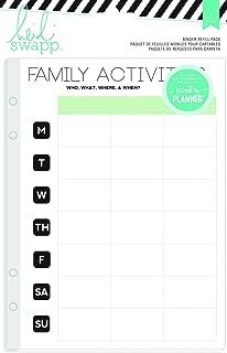 Heidi Swapp Hello Beautiful Activities Binder Refill Pack