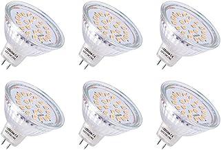 LEDGLE 3.8W GU5.3 MR16 LED Spot Warm Wit LED Reflector Vervangt 50W Halogeen Lamp 21LEDs LED Spot 12V GU 5.3 LED Lichtbron...