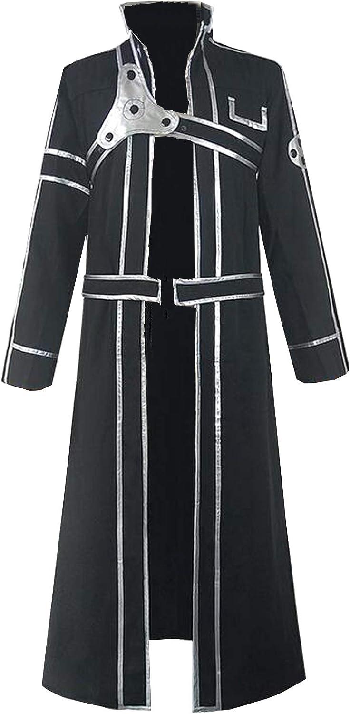 Poetic Walk Sword Art Seasonal Wrap Introduction At the price of surprise Online Cosplay Costume Black Cloak Kirito