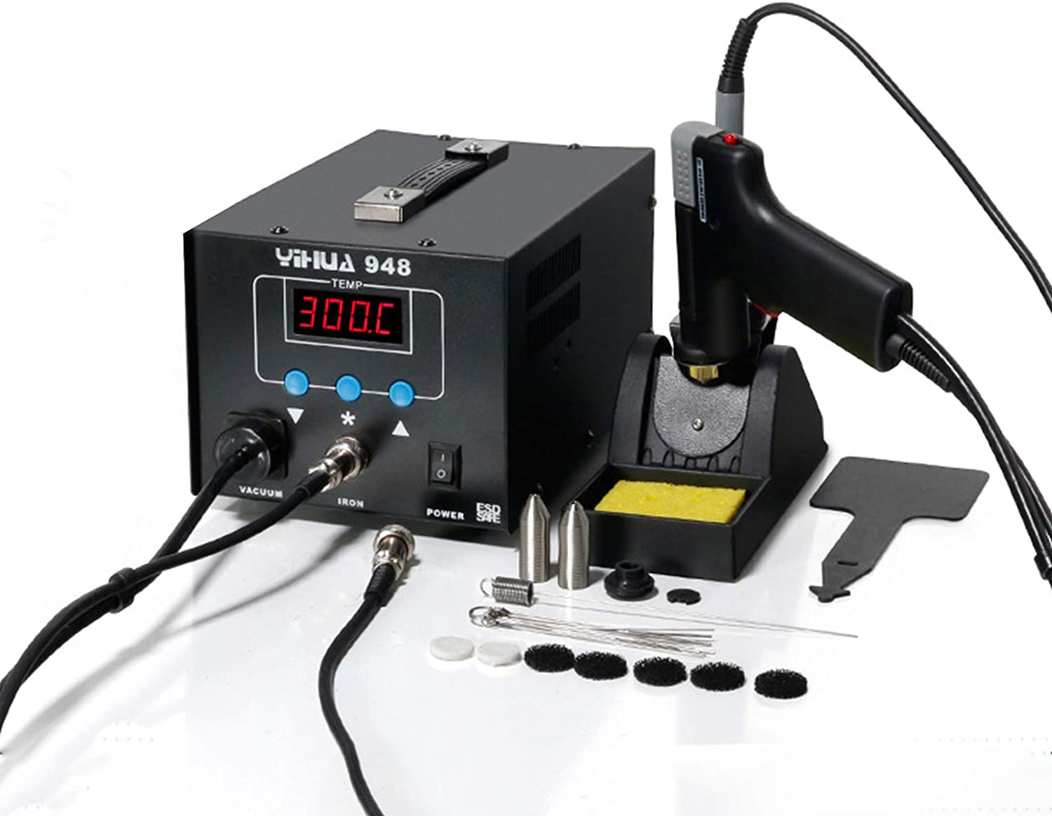 TBVECHI Soldering Station YH-948 2 Desoldering 1 Super intense SALE Direct stock discount 80W in