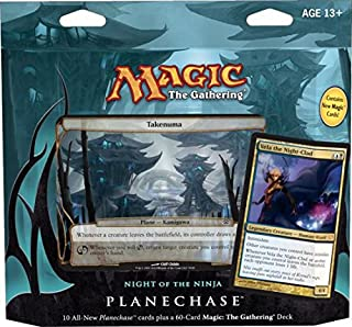 Magic the Gathering- MTG: Planechase (2012 Edition) Night of the Ninja - Game Pack