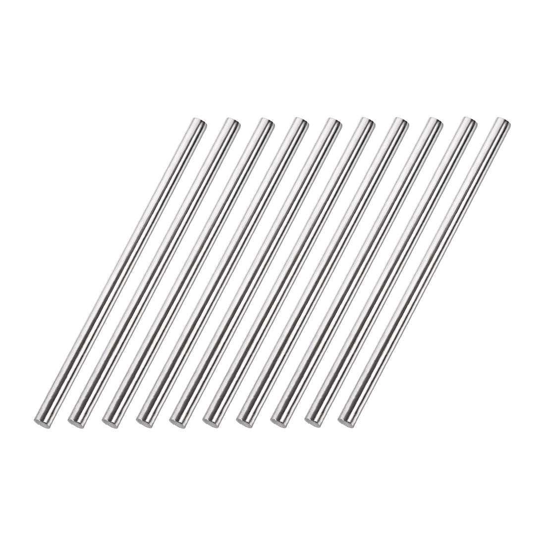 Awclub 5mm x 100mm 304 Tucson Mall Seattle Mall Stainless Rod Lathe Round Solid Bar Steel