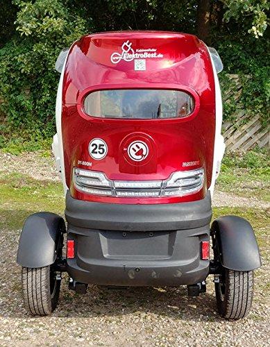 Scooter Elektroauto Kabinenroller E-Mobil mit Dach Bild 4*