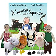 A Squash And a Squeeze - Book and Finger Puppets