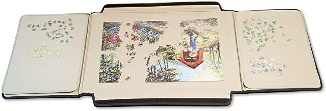 Bits And Pieces - 1500 Piece Puzzle Caddy-Porta-Puzzle Jigsaw Caddy - Puzzle Accessory Puzzle Table