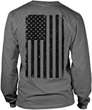 Best Distressed Black USA Flag - United States Unisex Long Sleeve Shirt Review
