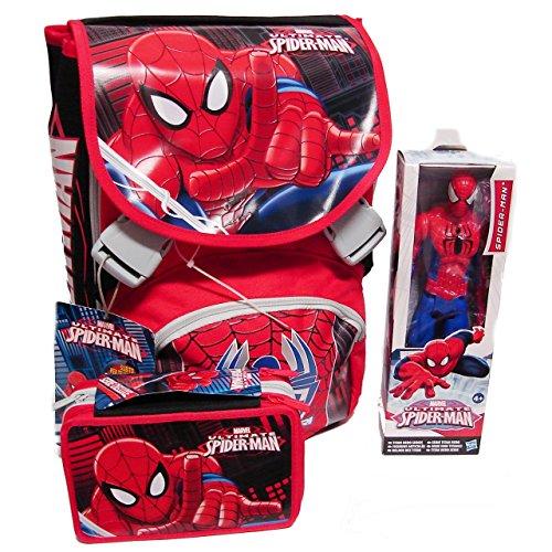 Zaino School Pack C/Gadget Superpower Spiderman